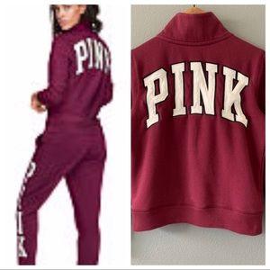 PINK Victoria's Secret Perfect Quarter Zip Top XS